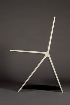 Concrete chair by Omer Arbel. //lines geometric minimal