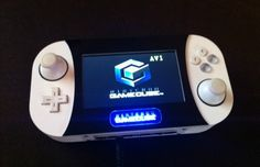 Console hacker [techknott] has a skill set that is quite possibly second to none. We do love [Ben Heck] and think that his portable consoles are beyond awesome, but you've got to check out this . Playstation, Bartop Arcade, Portable Console, Custom Consoles, Media Consoles, Handheld Video Games, Game Development Company, Nintendo Switch Accessories, Two Player Games