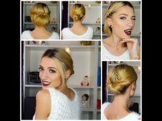 3 Recogidos fáciles, rápidos y elegantes | 3 easy, fast and elegant hair...