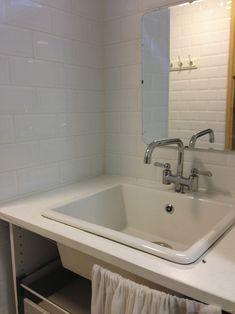 Talon kunnostus – ennen ja jälkeen – Design Wash Sink, Design, Home Decor, Sink Tops, Vessel Sink, Decoration Home, Room Decor, Vanity Basin, Sinks