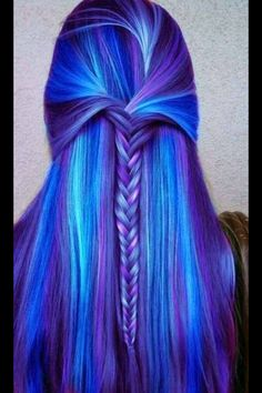 Colorful hair idea
