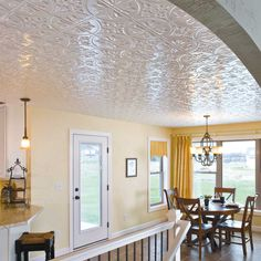 Stamped Tin Ceilings