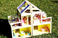 a modular toy house...you can change the design any time you want