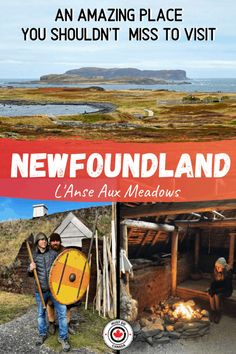 Looking for the best things to do in Newfoundland? One of the best Canada Road Trips is the Viking Trail. Here is your guide and itinerary for Newfoundland's Viking Trail. L'anse Aux Meadows, Voyage Canada, Viking Village, Ways To Travel, Travel Ideas, Travel Oklahoma, Adventure Activities, Boat Tours, New York Travel