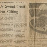Vintage Recipe Clipping - Valentine Fudge - Cookbook Village vintage and used cookbooks store online.