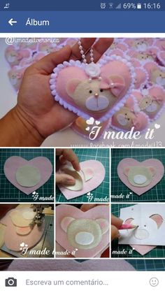 1 million+ Stunning Free Images to Use Anywhere Sewing Crafts, Sewing Projects, Craft Projects, Felt Keychain, Felt Baby, Felt Patterns, Felt Hearts, Felt Toys, Felt Ornaments