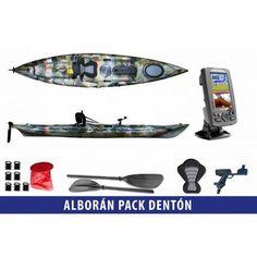 Incluye el kayak de pesca Alborán junto con una sonda de Lowrance Hook 4X