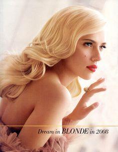 heavy blond foil
