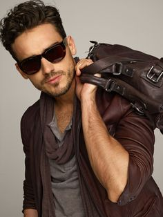 Sunglasses, bag, scarf