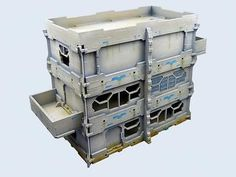 Other Miniatures and War Games 2537: Infinity Sci-Fi Terrain: District 5 Apartment 1 28-30 Mm Scale Mash00002 -> BUY IT NOW ONLY: $38.21 on eBay!