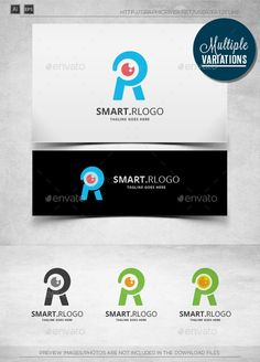 Smart R - Logo Template - Letters Logo Templates