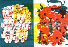 Mike Perry Studio | RISOGRAPH EXPERIMENTS