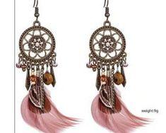 Luxusné náušnice s farebnými pierkami - indiana0 Drop Earrings, Jewelry, Fashion, Moda, Jewlery, Jewerly, Fashion Styles, Schmuck, Drop Earring