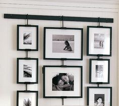 Studio Wall Easel - Easy Multi-level Display $30 plus frames Pottery Barn