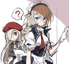 Character Art, Character Design, Anime Maid, Anime Warrior, Anime Tattoos, Girls Frontline, Art Station, Star Wars Humor, Anime Outfits