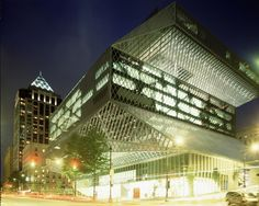 Gallery of Seattle Central Library / OMA + LMN - 11