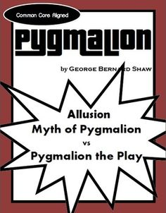 comparitive study essay example pygmalion Realism in pygmalion keyword essays and term papers available at echeatcom, the largest free essay community.