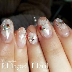 Soft & Beautiful 3d Nails, Cute Nails, Pretty Nails, Acrylic Nails, Creative Nail Designs, Gel Nail Designs, Creative Nails, Artistic Colour Gloss, Finger