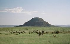 The rock formation for which Bell Ranch, NM, is named. That's where Angelo met the young cowboy.