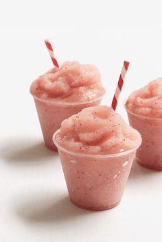Strawberry riesling Slushie