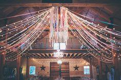 lluminate Your Big Day: 72 Barn Wedding Lights Ideas Barn Wedding Lighting, Wedding Ceiling, Dream Wedding, Our Wedding, Wedding Ideas, Wedding Goals, Wedding Signs, Wedding Photos, Barn Parties
