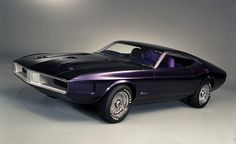 Ford has produced many Mustang concepts over the years—some awesome, some awful. Among the awesome is the pretty purple 1970 Mustang Milano. With its impossibly slim windows and Naca-ducted hood, the Mustang Milano screams muscle car to the point of caricature, if not originality. Indeed, had it no badges giving up its identity, the Mustang Milano could just as easily have been a concept version of a Dodge Charger or a Pontiac GTO. Still, it's cool as hell, and it clearly informed the…