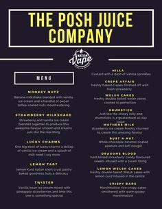 the Vape menu