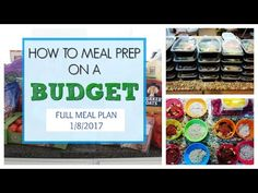 How to Meal Prep on A Budget Budget Meal Prep, Cooking On A Budget, Easy Keto Meal Plan, Easy Meal Prep, Healthy Recipe Videos, Healthy Recipes, Cooking Recipes, Chicken Diet Recipe, Meal Prep For Beginners