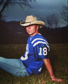 Kenny Chesney in a Peyton Manning Jersey...it doesn't get any better for me