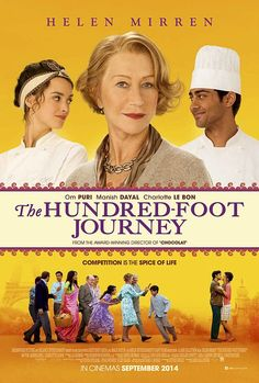 100 foot journey - Google Search