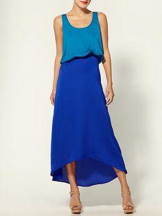 color block dress.