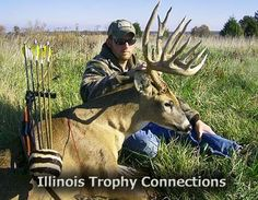 Where else but ILLINOIS!  Get free info on Trophy Deer  hunts (Archery and Gun) in Illinois from pro Outfitters and Hunting Guides!