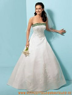 lässig Stil Ballkleid Einfache Brautkleider