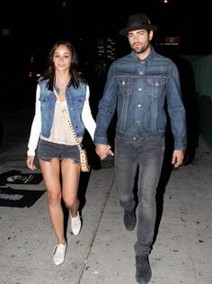 Jesse Metcalfe #denimondenim
