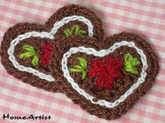 Die 120 Besten Bilder Von Häkeln Herzen Crochet Hearts Tejidos