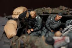 Sleeping German Panzergrenadiers