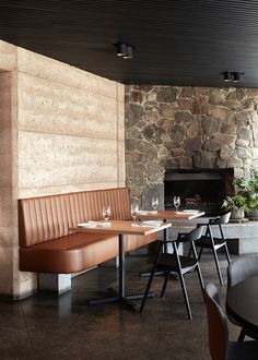 TarraWarra Estate Restaurant by Harrison Interiors. Photography by Sean Fennessy.