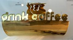 With your morning 'Cup of Jo' http://dec-a-porter.blogspot.com/2014/11/peek-boo-coffee-lovers-jewelry-exhibit.html Discover some fabulous new jewelry designs from young artists in Tel Aviv while learning a little about the history of the Coffee shop. #Travel #TelAviv #artist  #History #Coffee