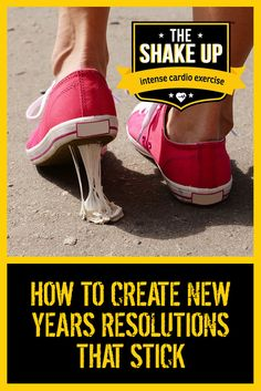 Sticky New Years' Resolutions.  Are there such things?  Yes there are.  Find out how you can create resolutions that get you excited and are achieveable.  #goals #nutrition #getfitfast http://theshakeup.com.au/all-news/how-to-create-new-years-resolutions-that-stick/