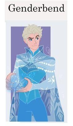 Elsa homem lindo de mais!! *0*