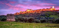 Picturesque: Monsaraz is a picture postcard walled town high the Alentejo.