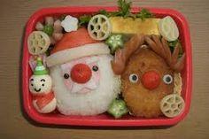 「クリスマス キャラ弁」の画像検索結果