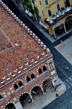 Verona - Piazza delle Erbe - Italy