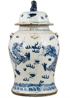 Chinoiserie Chic: Fabulous New Chinese Porcelain at The Pink Pagoda & a Giveaway Blue And White China, Blue China, Asian Accessories And Decor, Accessories Store, New Chinese, Chinese Style, Chinese Art, Chinese Dragon, Enchanted Home