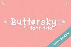 Buttersky by Kristy Hatswell on @creativemarket