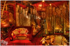 House on the rock: Organ Room by ~EmilyKPhotography on deviantART.  I spent one horrific summer working at the House on the Rock. I remember this room being the worst room to work in. It looks pretty though... House On The Rock, How To Look Pretty, Wisconsin, Places Ive Been, Places To Visit, Deviantart, House Styles, Summer, Room