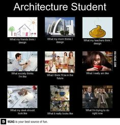 As an architecture student I feel its very appropriate.