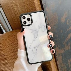 MarbleGlass™ For iphone XR / White Cool Iphone Cases, Iphone 11 Pro Case, Cute Phone Cases, Best Iphone, Iphone Phone Cases, Coque Macbook, Coque Iphone, Telefon Apple, Accessoires Iphone