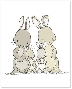 Bunny Nursery Art : You can CUSTOMIZE this print to any colors you choose, either from the color chart or a picture or link, just let me know and I can create a custom listing for you! *Be sure to select your size in the drop down box above. Here at Sweet Melody Designs we love creating cute art for your little ones rooms. We believe in encouraging the imagination of children and giving them a beautiful place to grow up. It is our hope that our art can have a small part in that wonderful…
