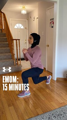 Take the next 15 minutes to get moving with this 15 minute EMOM. Fitness Goals, Fitness Motivation, Emom Workout, Get Moving, No Equipment Workout, Workout Videos, Ua, At Home Workouts, Health And Beauty